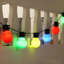축제 빛 확장 가능한 지구 안뜰 꽃줄 끈 빛