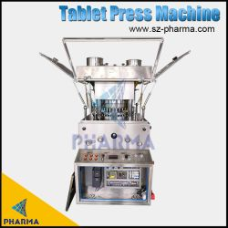 Escala de laboratorio maquinaria farmacéutica Prensa Tablet