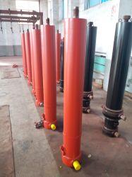 マルチステージテレスコピック、シングルアクティングフロントエンド油圧ダンプシリンダ