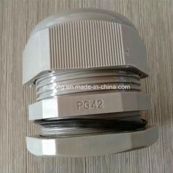 Ghiandole di cavo di plastica di colore grigio Pg42
