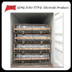Baixo consumo Dia UHP 500mm eléctrodo de grafite na produção de aço fabricados na China