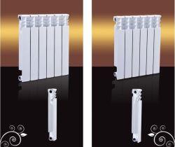 セントラル・ヒーティングの給湯装置のための鋳造アルミのバイメタルのラジエーターを停止しなさい