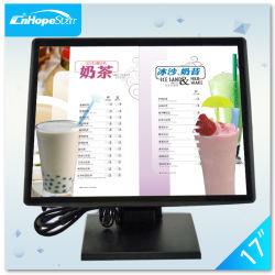 شاشة LCD مقاومة لللمس بحجم 17 بوصة لسطح المكتب