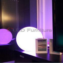 Feux lumineux à LED les billes de plein air avec batterie rechargeable mobilier extérieur