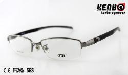 FDA van uitstekende kwaliteit Kf5021 van Ce van de Glazen van het Frame van het Metaal Halve Optische