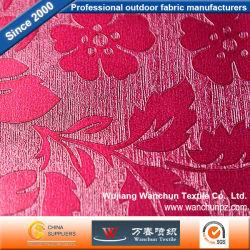 Tejidos de la bolsa de sofá de piel sintética de PVC
