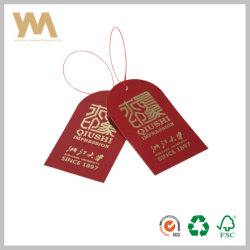 La Chine Hangzhou vêtement Vêtement de gros Hang Tags