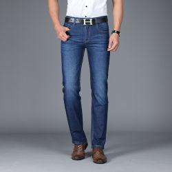 Промо хорошего качества мужчин прямые джинсы для бизнеса