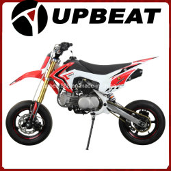 土のバイクCrf110を競争させる明るいMotardピットのバイク