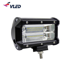 Offroad 5'' double rangée de barre d'éclairage à LED Pod la conduite de camions faisceau spot lampe IP69K