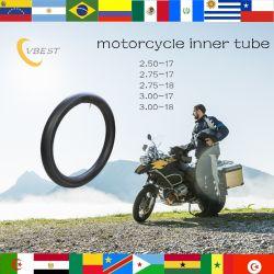 17 pulgadas de butilo motocicleta Natural el tubo interior (3.00-17)
