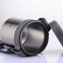 Vide en acier inoxydable alimentaire personnalisé Jar avec boîte à lunch en plastique