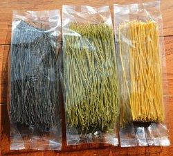 Tagliatelle organiche asciutte del cinese della soia del nero della soia verde della pasta della tagliatella della soia della tagliatella