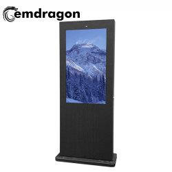 Android médias publicitaires novatrices Air-Cooled vertical de la publicité extérieure de la machine au sol de l'écran-1 49 pouces LED de signalisation numérique Bus Annonce visuelle