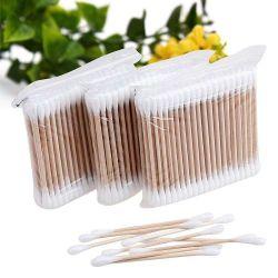 自然なタケ綿綿棒、綿の芽、試供品