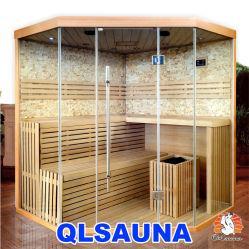 Sala de sauna de vapor de la estufa Harvia sauna tradicional de M10