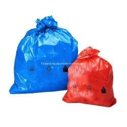 Degradables Compostable basura de plástico resistente al agua del Medio Ambiente de la bolsa de envoltura