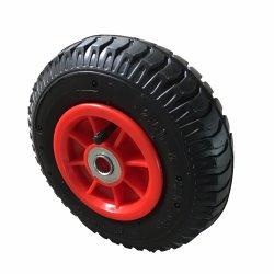 Bewegliches aufblasbares Gummifußrollen-Rad