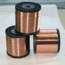 Polyester Polyamideimide Over-Coated avec fil de cuivre émaillé de ronde CCA Classe 200