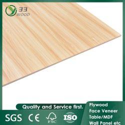 Scheda del compensato laminata melammina di legno di colore solido del grano del rifornimento dalla Cina