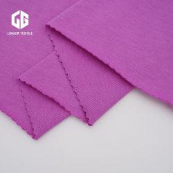 100%хлопок Carded один Джерси хлопчатобумажной ткани для текстильной