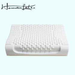 Masaje de cuello Antiestática almohada de espuma de látex natural puro