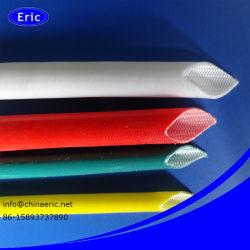 Guaina in gomma siliconica isolante in fibra di vetro termoresistenza