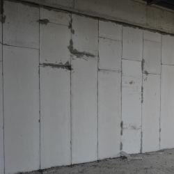 Au feu/matériel préfabriqué de polystyrène expansé Sandwich de ciment panneau mural pour l'hôpital
