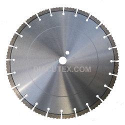 Professionnel de 14 pouces soudées au laser de béton de lame de scie de coupe
