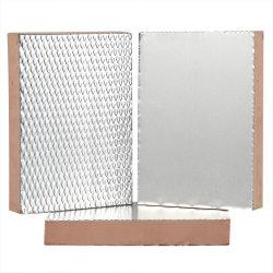 Placa fenólicos laminados de aço galvanizado Cartel dos Placa do Duto de Ar com folha de alumínio