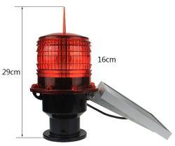 Solar LED impermeable Marina Testigo luz parpadeante