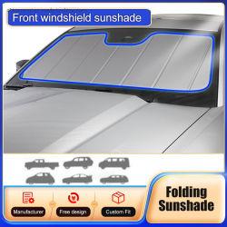 Custom Fit fenêtre Sun store pare-soleil avant de voiture de l'ombre pour Audi A5 2008-2017