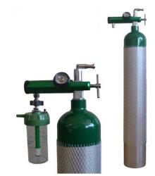高圧アルミニウムガスシリンダ( DOT および CE 認証付)