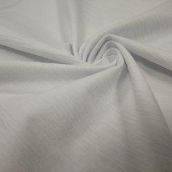 Wit en zwart Slub Jersey Bamboo Textile for T-shirt Pullovers blouses Textiel