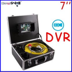 7'' l'écran numérique DVR//vidange du tuyau d'égouts/cheminée Caméra d'inspection vidéo 7D1