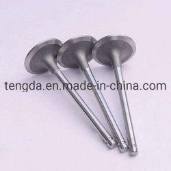 Aço inoxidável Válvula do Motor da Válvula de Escape da Válvula de Admissão de titânio