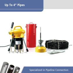 Limpiador de tubo de evacuación eléctrica Máquina de limpieza de aguas residuales (A75)