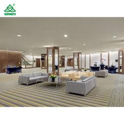Hôtel moderne contemporain Lobby canapé, mobilier en bois massif de sièges du lobby