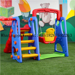 New Kids Plastic Basketball Slide Swing 세트 어린이