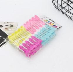 Многоцветные ТЕБЯ ОТ ВЕТРА пластиковые штифты одежды