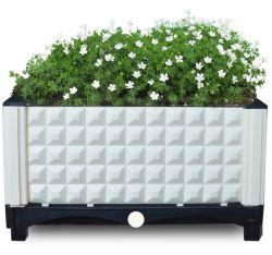 Пластиковый поднят сада и дома кровать для растут цветы кровать Pot сеялка расти в салоне