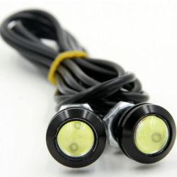 9W Lámpara de funcionamiento automático de aparcamiento de la Noche de Luz trasera LED DRL Coche Ojo de águila