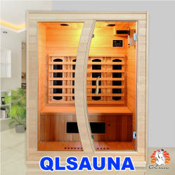 2019 Nouvelle cabine de sauna infrarouge L3te 3 Personne Sauna