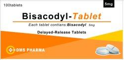 Westren Pharma Bisacodyl는 인간적인 약을%s 정제를 연기하 풀어 놓는다