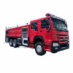 Sinotruk HOWO 6X4 16tons에 의하여 사용되는 화재 싸움 장비 소방차