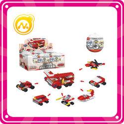 Miniblock-verdrehtes Ei-Spielzeug-Löschfahrzeug