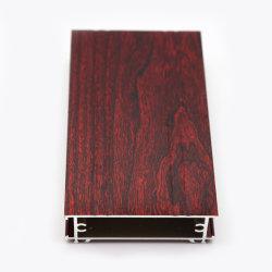 Bois une granularité6063 T5 Extrusion profiles en aluminium