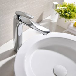 [مندل] مصمّم ظهر مركب يعلى نحاس أصفر كروم أسود نوع ذهب حمام حوض [تب وتر] خلّاط صنبور لأنّ غرفة حمّام