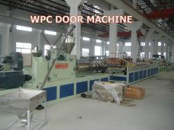 Panel de puerta de PVC WPC Placa de la placa de plástico que hace la máquina