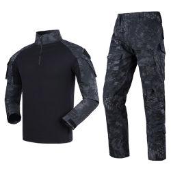 Uniforme tattica 2019 dell'attrezzo di sicurezza dell'esercito del vestito della rana di Airsoft di combattimento del Mens di Multicam